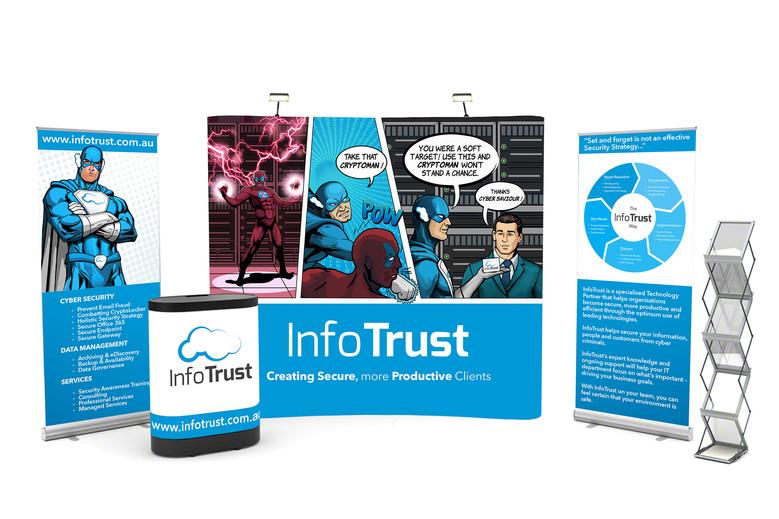 InfoTrust - Conference Artwork