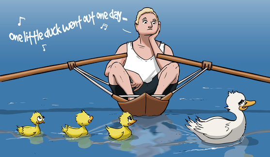 Duck Rower