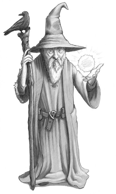 Odrall the Wizard