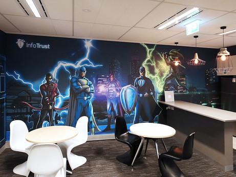 Giant Office wallpaper for InfoTrust