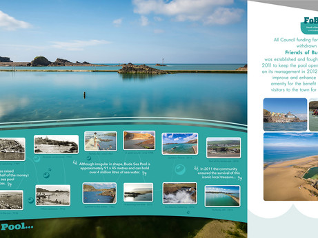 6m x 4m wallpaper for Bude Sea Pool