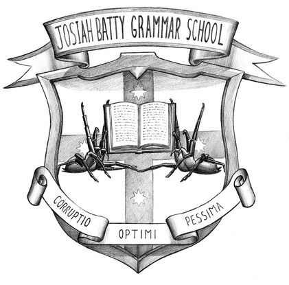 Josiah Batty Grammar School get its own crest!