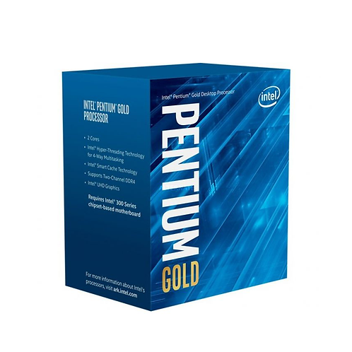 Intel Pentium G6400 Processor Socket 1200 4.0Ghz 10th Gen Comet Lake