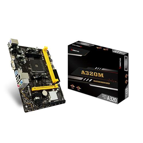 Biostar A320MH Socket Am4 DDR4 Motherboard