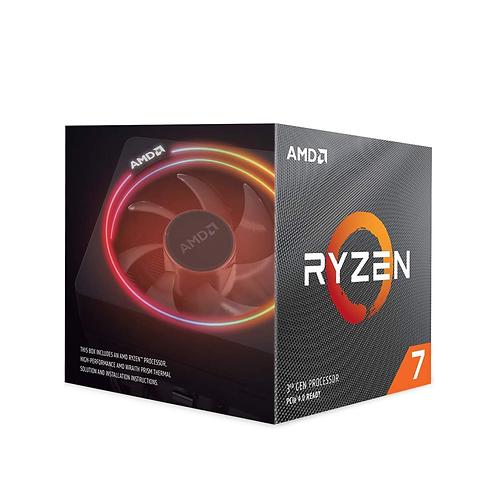 Amd Ryzen 7 3700X Processor Socket Am4 3.6ghz with Wraith Prism RGB Cooler