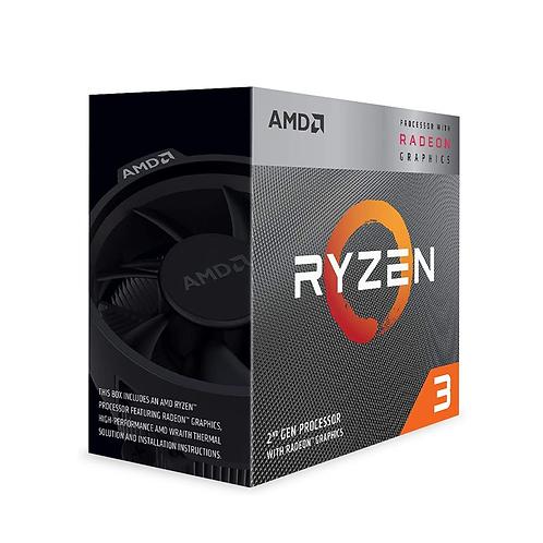Amd Ryzen 3 3200G Processor Socket Am4 3.6ghz with Radeon Vega 8 Graphics
