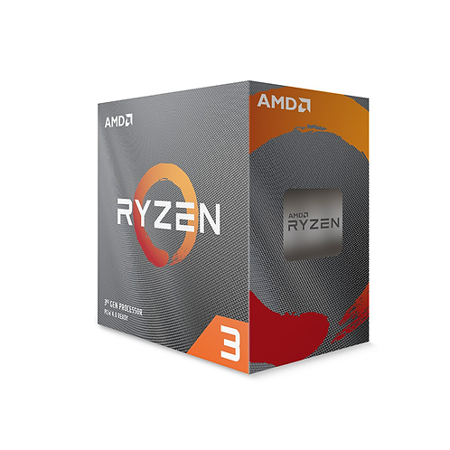 Amd Ryzen 3 3300X Processor Socket Am4 4.3ghz with Wraith Stealth Cooler