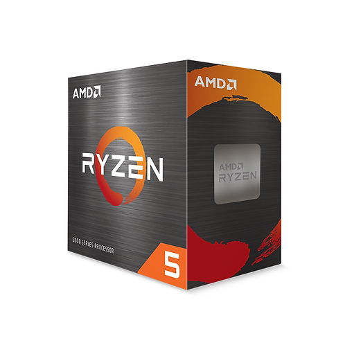 Amd Ryzen 5 5600X Processor Socket Am4 3.7ghz with Wraith Stealth Cooler