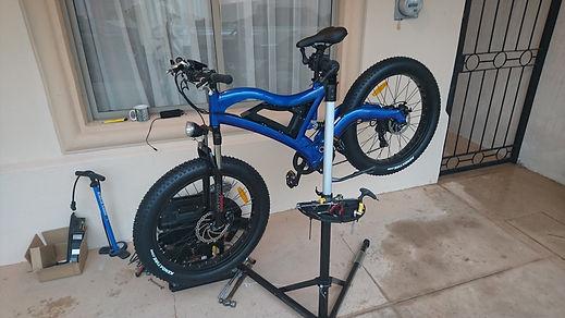bicicleta eléctrica de montaña llanta gorda todo terreno servicio México