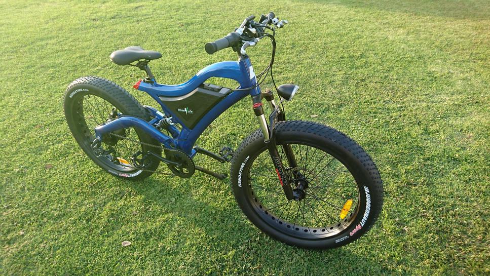 Fat Rider Azul Metalico