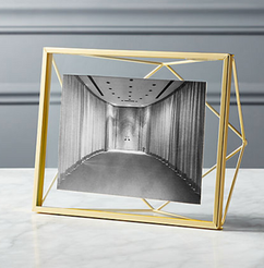 Geometric Gold frame