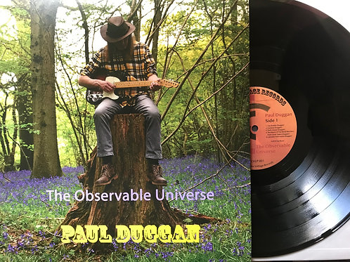 """The Observable Universe"" by Paul Duggan - VINYL LP album"