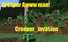Creeper Invasion Datapack