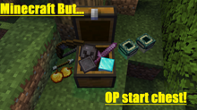 Minecraft but... OP start chest!