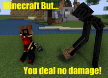 Minecraft But... You Deal No Damage!