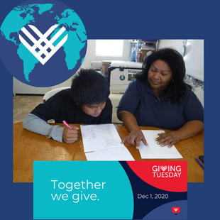 Giving Tuesday December 1, 2020