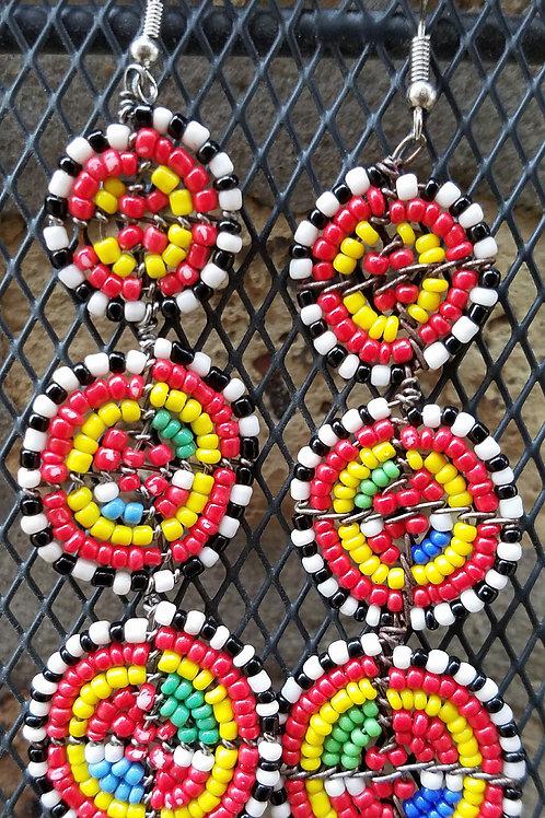 Maasai 9- Circles- Duara