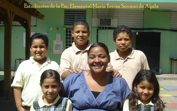 Students at Abuela's school