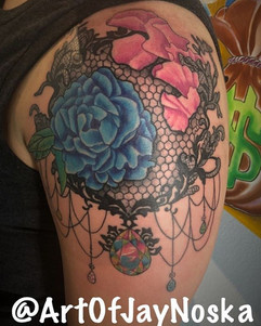 Started this sweet piece today. Had such