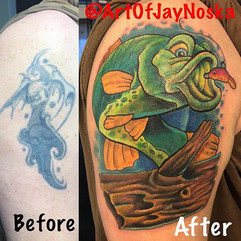 Just finished up the sweet coverup at th
