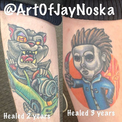 Got to see these healed pieces tonight.