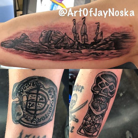 Just finished up these sweet Goonies tat