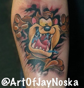 Checkout this sweet Taz that I got to do
