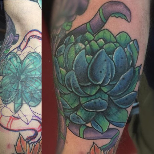 Did this crazy cover up of a cover up ta