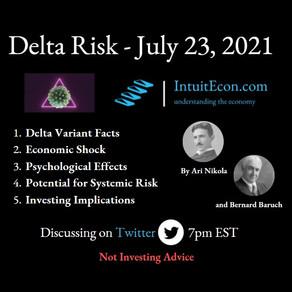 Delta Risk - 7/25/2021