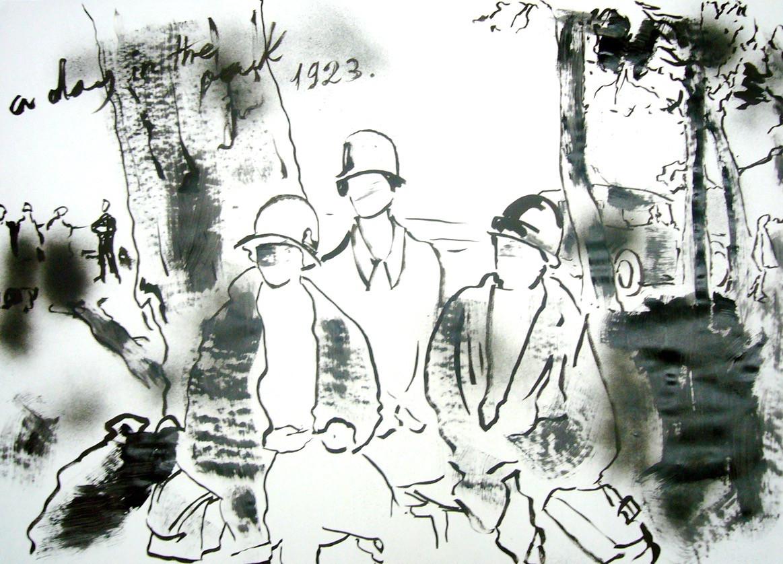 Picnic and Hats , 2011