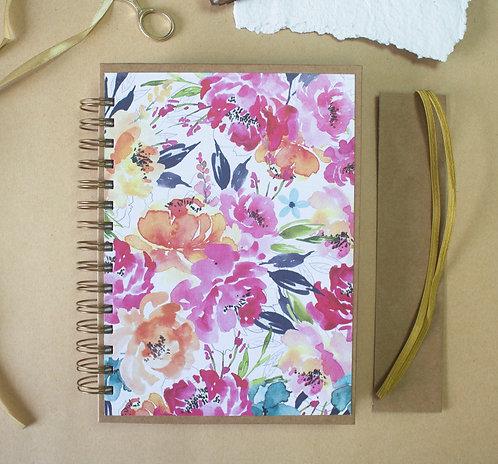 Libreta Flores Colores