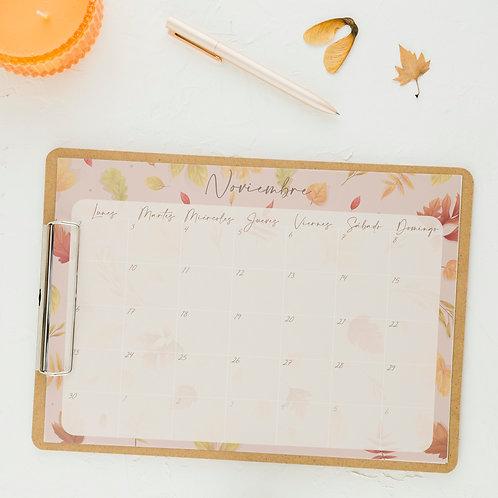 Planificador Noviembre