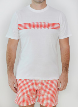 Editions Dubai Ghutra Red T Shirt and Ghutra Red Short