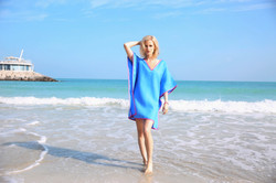 UpBeach Chloe Tunic Blue Lagoon
