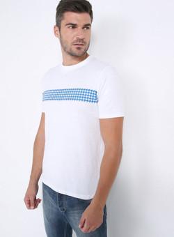 Editions Dubai Ghutra Blue T Shirt