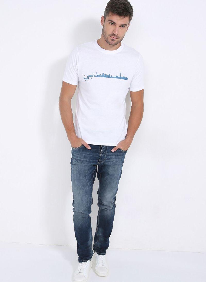 Editions Dubai Skyline T-Shirt