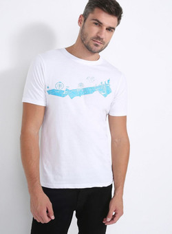 Editions Dubai Coastline T Shirt