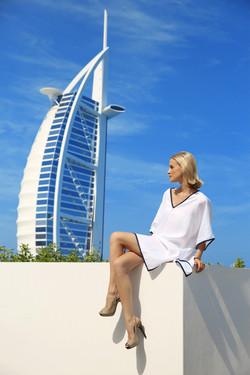 UpBeach Monica Dress White