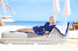 UpBeach Olivia Tunic Navy Blue