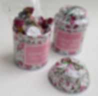 mini tea tins favors