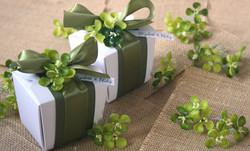 garden theme wedding favor boxes
