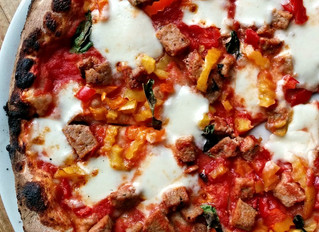 Spicy Meatball Pizza