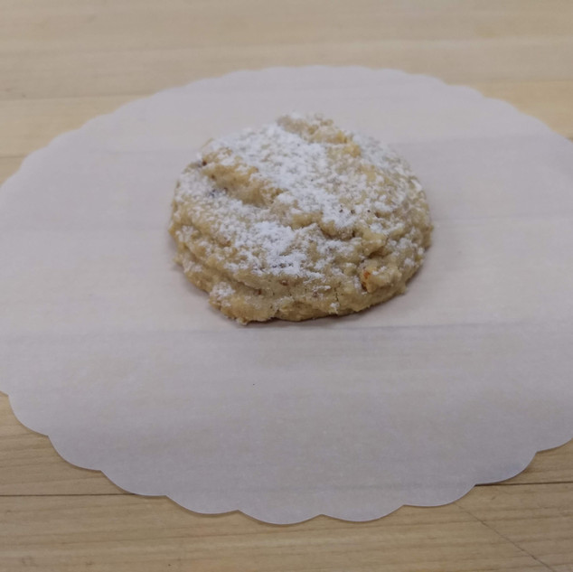 Teacake almond or walnut