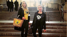 K-9 Angels attend a Parliamentary briefing  to end the dog meat trade in Asia.