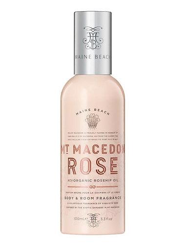 Mt Macedon Rose Body & Room Fragrance 100ml