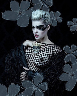 Photography by the renowned Lori Cicchini. Model Stefania Ferrario