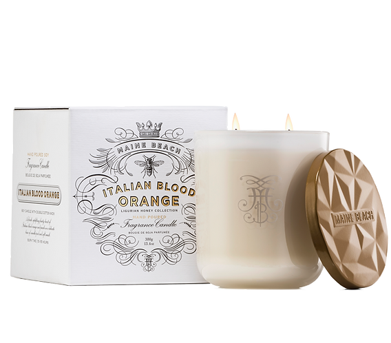 Organic Ligurian Honey Candle 380g
