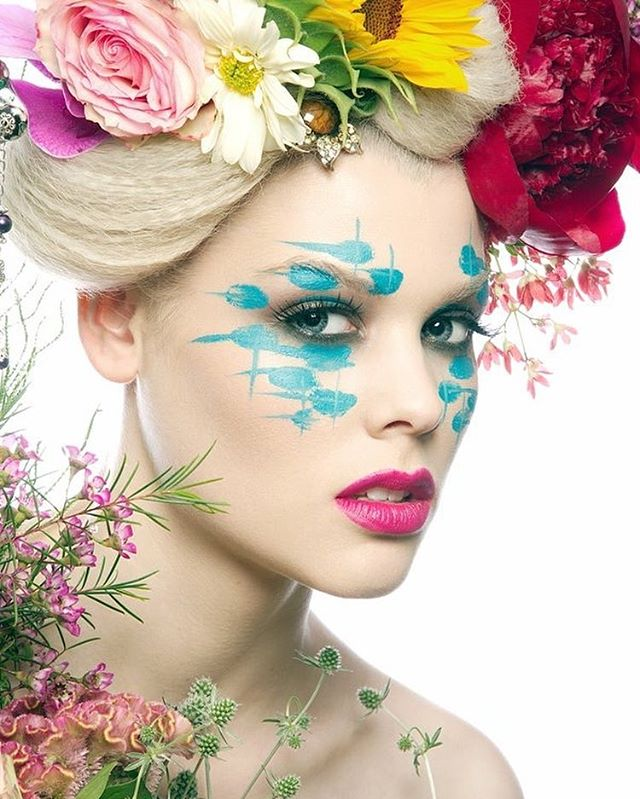 Photography Geoff Jones _geoffjones333  Makeup & Florals Superstardave _superstardave  #makeupjunkie