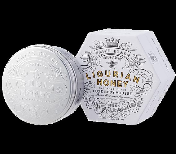 Organic Ligurian Honey Luxe Body Mousse 150ml