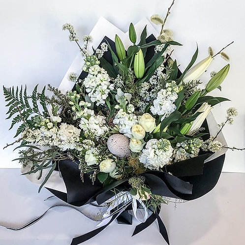 White & Green Bouquet FROM $65